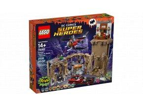 Lego Super Heroes 76052 Batmanova jeskyně  + volná rodinná vstupenka do Muzea LEGA Tábor v hodnotě 370 Kč
