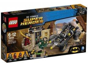 LEGO Super Heroes 76056 Batman Záchrana před Ra's al Ghulem