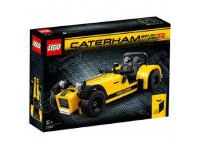 Lego Ideas 21307 Caterham Seven 620R  + volná rodinná vstupenka do Muzea LEGA Tábor v hodnotě 370 Kč