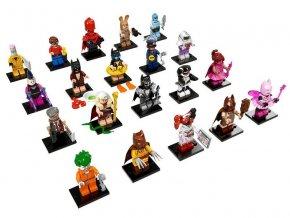LEGO 71017 minifigurky The LEGO BATMAN Movie - kompletní sada všech 20-ti figurek