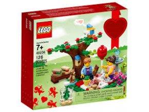 LEGO 40236 Romantický valentýnský piknik