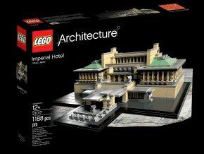 LEGO Architecture 21017 Imperial Hotel  + volná rodinná vstupenka do Muzea LEGA Tábor v hodnotě 370 Kč