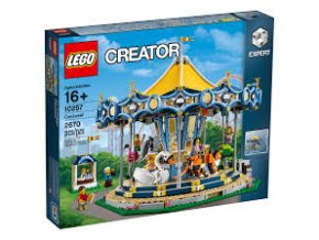 Lego Creator 10257 Kolotoč  + volná rodinná vstupenka do Muzea LEGA Tábor v hodnotě 370 Kč