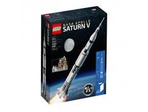 LEGO Ideas 21309 NASA Apollo Saturn V  + volná rodinná vstupenka do Muzea LEGA Tábor v hodnotě 370 Kč