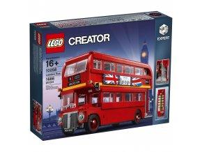 Lego Creator 10258 Londýnský autobus  + volná rodinná vstupenka do Muzea LEGA Tábor v hodnotě 370 Kč
