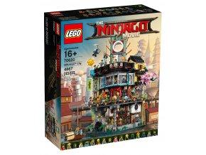 LEGO Ninjago MOVIE 70620 City  + volná rodinná vstupenka do Muzea LEGA Tábor v hodnotě 370 Kč