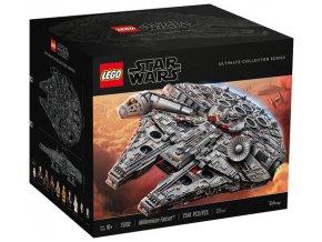 LEGO STAR WARS 75192 Millennium Falcon™  + volná rodinná vstupenka do Muzea LEGA Tábor v hodnotě 370 Kč