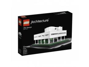 LEGO Architecture 21014 Villa Savoye  + volná rodinná vstupenka do Muzea LEGA Tábor v hodnotě 370 Kč