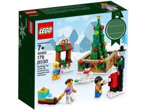 LEGO 40263 Vánoční náměstí