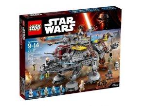 Lego Star Wars 75157 Captain Rex's AT-TE (AT-TE kapitána Rexe)  + volná rodinná vstupenka do Muzea LEGA Tábor v hodnotě 370 Kč