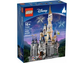 LEGO DISNEY 71040 Disney Castle  + volná rodinná vstupenka do Muzea LEGA Tábor v hodnotě 370 Kč