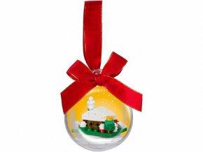 LEGO 850949 Vánoční ozdoba - Zasněžená chaloupka