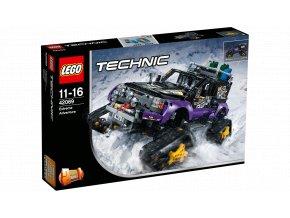 Lego Technic 42069 Extrémní dobrodružství  + volná rodinná vstupenka do Muzea LEGA Tábor v hodnotě 370 Kč