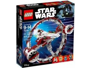 LEGO STAR WARS 75191 Jediská stíhačka s hyperpohonem  + volná rodinná vstupenka do Muzea LEGA Tábor v hodnotě 370 Kč