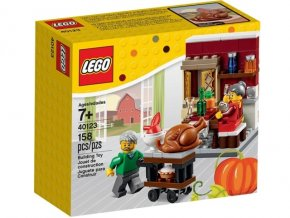 LEGO 40123 Thanksgiving Feast