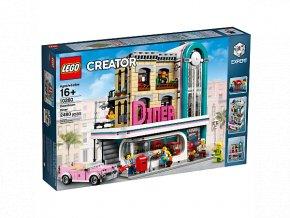 LEGO Creator 10260 Restaurace v centru města  + volná rodinná vstupenka do Muzea LEGA Tábor v hodnotě 370 Kč