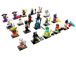 LEGO 71020 minifigurky The LEGO Batman Movie 2.série - kompletní sada všech 20-ti figurek