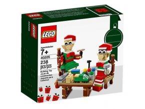 LEGO 40205 Little Elf Helpers