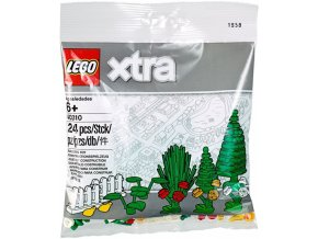 LEGO XTRA 40310 Doplňkové dílky – Rostliny