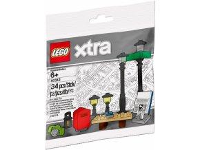 LEGO XTRA 40312 Doplňkové dílky – Pouliční lampy