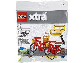 LEGO XTRA 40313 Doplňkové dílky – Jízdní kola