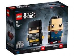 LEGO BrickHeadz 41610 Batman™ v taktickém obleku a Superman™