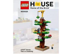 LEGO 4000026 LEGO House Tree of Creativity  + volná rodinná vstupenka do Muzea LEGA Tábor v hodnotě 370 Kč