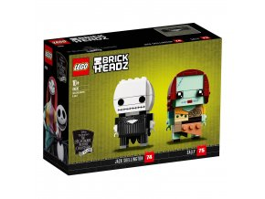 LEGO BrickHeadz 41630 Jack Skellington a Sally