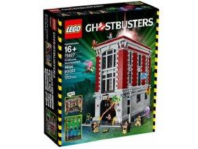 LEGO Ghostbusters 75827 Hasičská základna  + volná rodinná vstupenka do Muzea LEGA Tábor v hodnotě 370 Kč