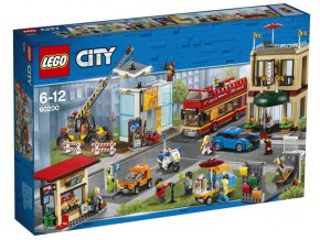 Lego City 60200 Hlavní město  + volná rodinná vstupenka do Muzea LEGA Tábor v hodnotě 370 Kč