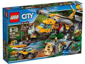 Lego City 60162 Výsadková helikoptéra do džungle  + volná rodinná vstupenka do Muzea LEGA Tábor v hodnotě 370 Kč