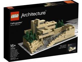 LEGO Architecture 21005 Fallingwater  + volná rodinná vstupenka do Muzea LEGA Tábor v hodnotě 370 Kč