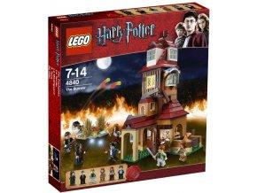 LEGO Harry Potter 4840 Doupě  + volná rodinná vstupenka do Muzea LEGA Tábor v hodnotě 370 Kč