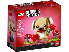 LEGO BrickHeadz 40349 Valentýnské štěňátko