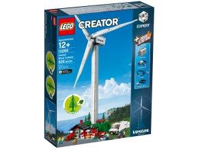 Lego Creator 10268 Větrná turbína Vestas  + volná rodinná vstupenka do Muzea LEGA Tábor v hodnotě 370 Kč