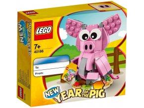 Lego 40186 Year of the Pig (Rok prasete)