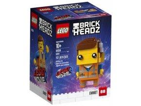 LEGO BrickHeadz 41634 Emmet  + volná rodinná vstupenka do Muzea LEGA Tábor v hodnotě 370 Kč