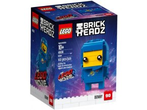 LEGO BrickHeadz 41636 Benny  + volná rodinná vstupenka do Muzea LEGA Tábor v hodnotě 370 Kč