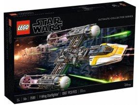 LEGO STAR WARS 75181 Stíhačka Y-Wing™  + volná rodinná vstupenka do Muzea LEGA Tábor v hodnotě 370 Kč