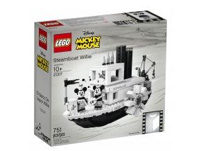 LEGO Ideas 21317 Parník Willie  + volná rodinná vstupenka do Muzea LEGA Tábor v hodnotě 370 Kč