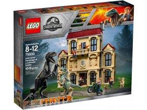 LEGO JURASSIC WORLD 75930 Řádění Indoraptora v Lockwoodově sídle  + volná rodinná vstupenka do Muzea LEGA Tábor v hodnotě 370 Kč