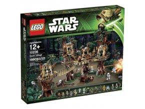 LEGO Star Wars WARS 10236 Ewok Village  + volná rodinná vstupenka do Muzea LEGA Tábor v hodnotě 370 Kč