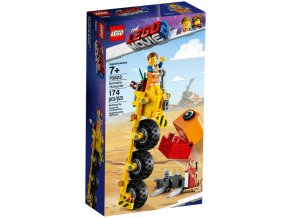 LEGO  MOVIE 70823 Emmetova tříkolka!