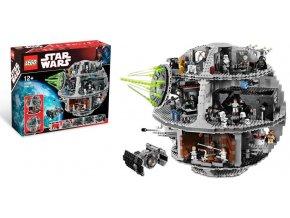 LEGO Star Wars 10188 Hvězda smrti  + volná rodinná vstupenka do Muzea LEGA Tábor v hodnotě 370 Kč