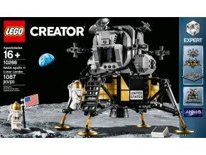 Lego Creator 10266 Lunární modul NASA Apollo 11  + volná rodinná vstupenka do Muzea LEGA Tábor v hodnotě 370 Kč