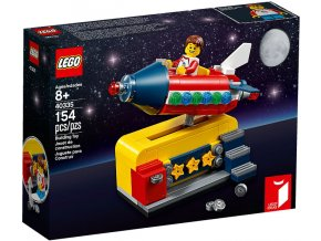LEGO Ideas 40335 Space Rocket Ride- Lego Ideas
