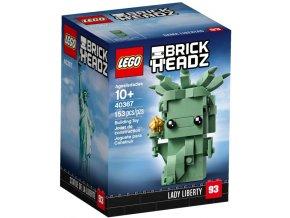 LEGO BrickHeadz 40367 Lady Liberty (Socha Svobody)