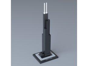 LEGO Architecture 21000 Willis Tower  + volná rodinná vstupenka do Muzea LEGA Tábor v hodnotě 370 Kč