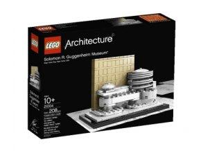 LEGO Architecture 21004 Solomon R. Guggenheim Museum  + volná rodinná vstupenka do Muzea LEGA Tábor v hodnotě 370 Kč