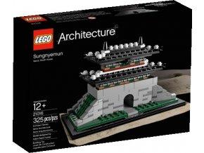 LEGO Architecture 21016 Sungnyemun  + volná rodinná vstupenka do Muzea LEGA Tábor v hodnotě 370 Kč